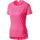 adidas Response Maglietta da corsa Donna rosa